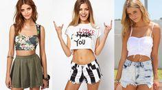 Crop top, tendencia de moda verano 2014