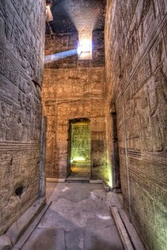 Inside the Hathor temple in Dendera, Qena, Egypt.You can get very interesting light inside there.  There will be more photos from my trip to Egypt of course. In the meantime you can find more of my and my partner's photos at http://pictrs.com/petschne or on my profile.  #egypt #hathor #dendera #qena #hdr #photography