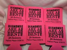 Diamonds are girl's bestfriend!