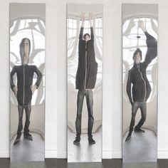 Zerrspiegel 200 x 45 by Julien Vidame VIDAME CREATION