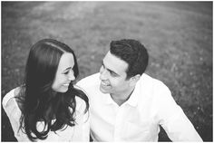 Black and white engagement photo session in Pittsburgh | Kelly Adrienne Photography