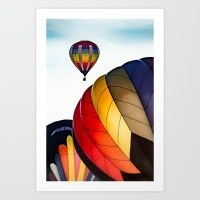 Ballon Rally Art Print
