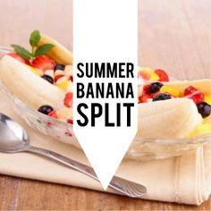 Summer Banana Split