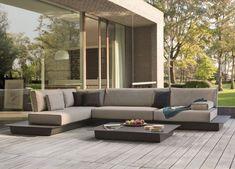 8 Extraordinary House Terrace Design Ideas To Beautify The Look Of Your Home Garden Coffee Table, Garden Sofa, Modern Outdoor Furniture, Modern Patio, Outdoor Decor, Corner Sofa Modern, Home Design Decor, Design Ideas, Terrace Design