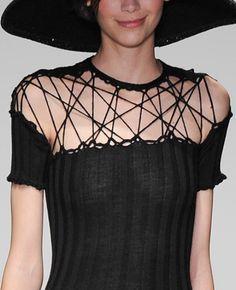 "decorialab:  (via Decorialab's ""Knit Experience London Fashion Week FW 14"" Trend Report | DecorialabDecorialab)"