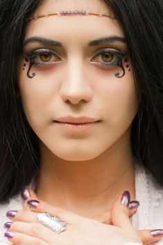 Medieval Makeup Ideas   Homemade Gypsy Costume Ideas   Makeup ...