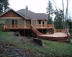 Multilevel Decks Design, Pictures, Remodel, Decor and Ideas - page 5