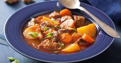 Recette de Mijoté de boeuf maigre aux carottes, pommes de terre et tomate. Facile et rapide à réaliser, goûteuse et diététique.