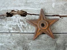 Architectural Star Antique Cast Iron Rustic by AntoinettesWhims, $27.00