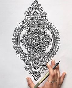 Mandala mohinj doodlearts mandalas in 2019 mandala muster, zeichn Mandala Art, Mandala Nature, Image Mandala, Mandala Doodle, Mandalas Drawing, Zentangle Drawings, Mandala Painting, Mandala Tattoo, Arm Tattoo