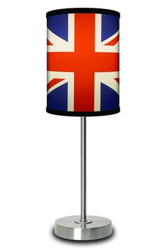 LAMP-IN-A-BOX Union Jack British Flag Lamp