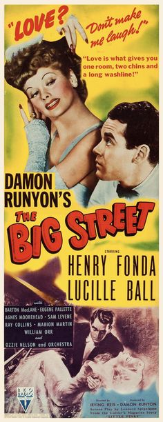 The Big Street (RKO, 1942)