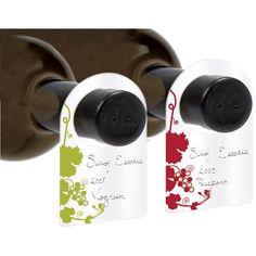 Wine Cellar Tags An easy way to organize your stored wine or expanding collection, this set is a thoughtful accompanying gift for a gift of wine, or a subscription to our Artisan Collection™ Wine Club. The best and easiest way to keep track of your wine – whether you have 20 bottles or 2,000.  Get it here: https://www.wineshopathome.com/shop/products/accessories/assorted-paper-wine-cellar-tags-wwriting-pen/?rep=rivkakaminetzky