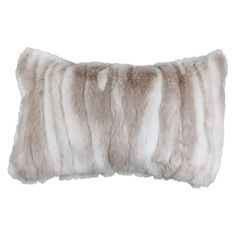 Faux Fur Pillow//