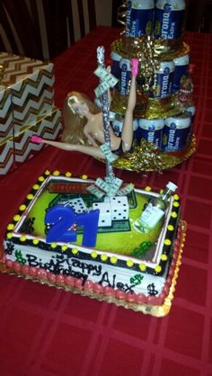 21 Birthday Cake For Him 21st Guys