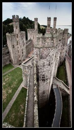 Caernarfon castle.....good angle