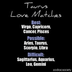 Taurus Love Matches: yah for cancer!!!