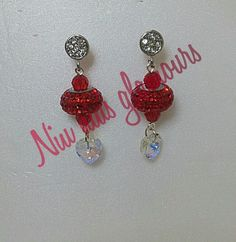 Swarovski becharmed 80201 earring