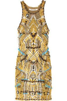 Diane Von Furstenberg Ammand Macramé Dress Profile Photo