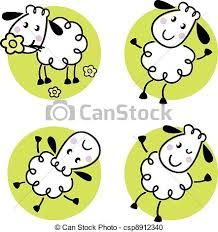 Image result for cute sheep illustration