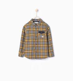 Check shirt - Shirts - Boy (3 - 14 years) - KIDS | ZARA United States