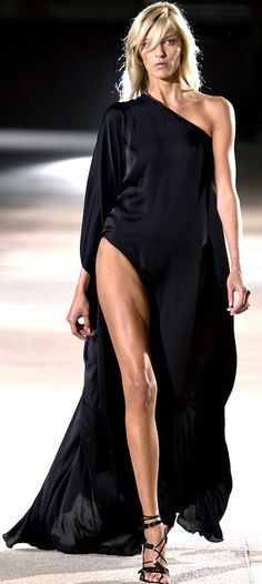 The only rule is don't be boring and dress cute wherever you go. Life is too short to blend in.  Anthony Vaccarello - Spring Summer 2013