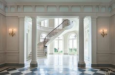 French Style Meets Georgian Elements in this Wadia Country House - Traditional - Staircase - Other Metro - Wadia Associates