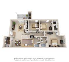 3d House Plans, Model House Plan, House Layout Plans, Craftsman House Plans, Small House Plans, House Layouts, House Floor Design, Pool House Designs, Sims House Design