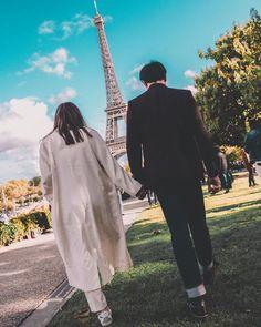 Kathryn Bernardo and Daniel Padilla- Paris, October 2019 © Love Couple, Couple Goals, Daniel Padilla, Kathryn Bernardo, Photo Wall Collage, Vacation Trips, Vacations, City Lights, Korean Girl