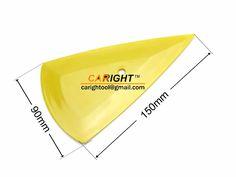 ■ツール名称:CR-099 硬質三角ヘラ コーナーに達するスキージ ウインドウフィルム イエロー 158×137×78mm ■材料:プラスチック ■サイズ:158×137×78mm ■重さ:15g 三角形の設計は最も便利です。 長さの違い辺はそれぞれのところにぴったりです。 おまけに尖る角でどんな細かいところでも気楽に届けて、作業も着々と進めます。