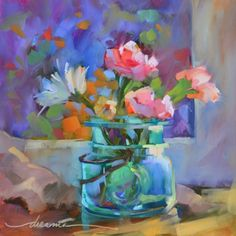 Simply Gratitude, painting by artist Dreama Tolle Perry