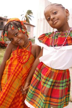 Girls of Dominican Republic, West Indies