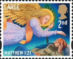 Royal Mail Special Stamps   Christmas 2011 Matthew 1:21 Royal Mail Stamps, Uk Stamps, Postage Stamps, Christmas Scenes, Christmas Past, Christmas Images, Christmas In Ireland, Xmas Theme, Postage Stamp Collection