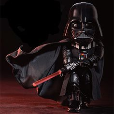 Adorable Egg Attack Darth Vader figure to rule the galaxy with! LED light-up chest light support, and the helmet shell comes off to reveal the intricate details of his helmet's interior biochemistry. Darth Vader Figure, Star Wars Memorabilia, Ultimate Star Wars, Star Wars Room, Star Wars Merchandise, Star Wars Gifts, Star Wars Darth, Great Films, Star Wars Episodes