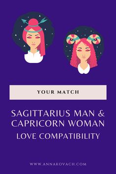 The Sagittarius man being a fire sign may be a bit of a hot man to handle for the Earth bound Capricorn woman. She has her feet firmly planted on the ground while Sagittarius man is a airy and adventuresome type of guy. They have tribulations they must overcome. Keep reading for what it may be like between these two. #zodiac #horocsope #sign #astrology #love #relationship #dating #sagittarius #man #capricorn #woman #compatibility #match #dating_sagittarius #best_match #in_love… Capricorn And Sagittarius Compatibility, Sagittarius Man In Love, Capricorn Women, Love Compatibility, Types Of Guys, Fire Signs, Astrology, Hot Guys, Zodiac