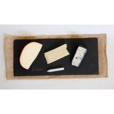 Slate Cheese Tray with Chalk Pen $29.95 - A gorgeous way of presenting cheese and other 'grazing' foods. Also comes witha chalk pen so you can write the name of the cheese on the board.