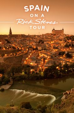 """~ Toledo ~ Travel to Toledo on a Rick Steves Best of Barcelona & Madrid in 8 Days Tour. We'll spend Day 7 in Toledo. Join us for a traffic-free walking tour that includes the city's magnificent cathedral, the historic Sinagoga del Tránsito and El Greco's """"The Burial of the Count of Orgaz"""" in Santo Tomé Chapel."""