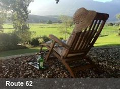 You've heard of route 66 in the US, now our home grown Route 62 Outdoor Chairs, Outdoor Decor, Route 66, Cape Town, South Africa, This Is Us, Road Trip, Garden, Travel