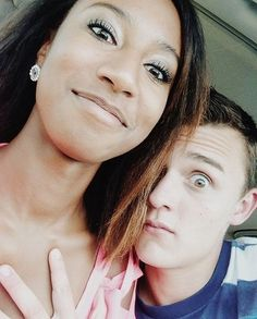 Happy is the man who finds a true friend, and far happier is he who finds that true friend in his wife💕 💖click my bio link to meet your dream mate . Black Woman White Man, Black Love, Black Girls, Mixed Couples, Couples In Love, Black And White Dating, Biracial Couples, Interacial Couples, Passionate Couples
