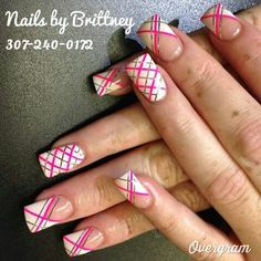 Acrylic nails by Brittney @ BA Nails in Riverton, Wyoming