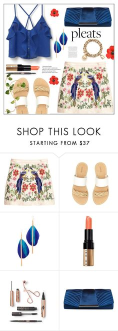 """Give Me Pleats, Please"" by pat912 ❤ liked on Polyvore featuring Soludos, Serefina, Bobbi Brown Cosmetics, Jessica McClintock, Tiffany & Co., pleats and polyvoreeditorial"