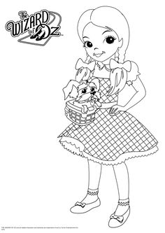 free wizard of oz printables | wizard of oz coloring 13 595×842