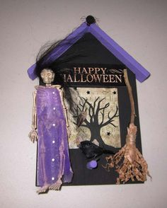 aLtErEd ArT HaLLowEEn WiTcH HaZeL fLy mE by SauvageRavenCreation, $18.00