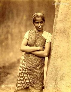 Tamil Woman, ca 1880a India
