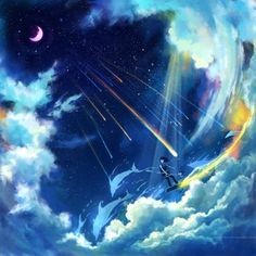 The sky~