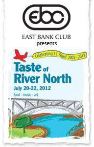 Taste of River North 2012 in Chicago