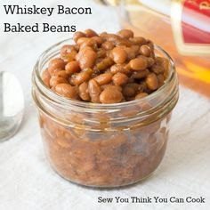 Whiskey Bacon Baked