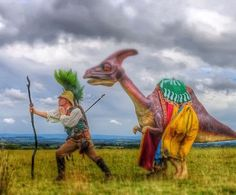 Dino The Dinosaur- Walkabout Character Act | Birmingham | West Midlands | UK
