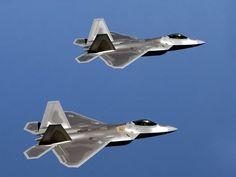 F-22 Raptors!
