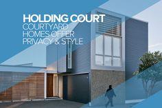 Courtyard Houses, Seatoun, Wellington - Auckland Design Manual - Auckland Design Manual